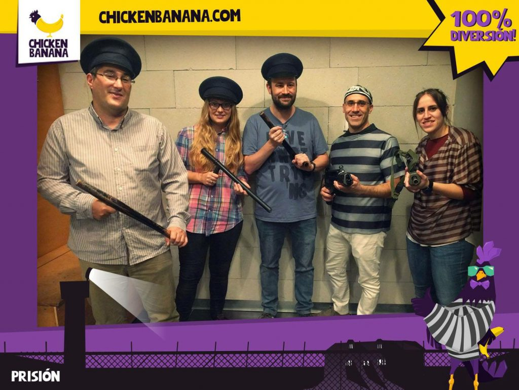 Escape Room Life en Prisión