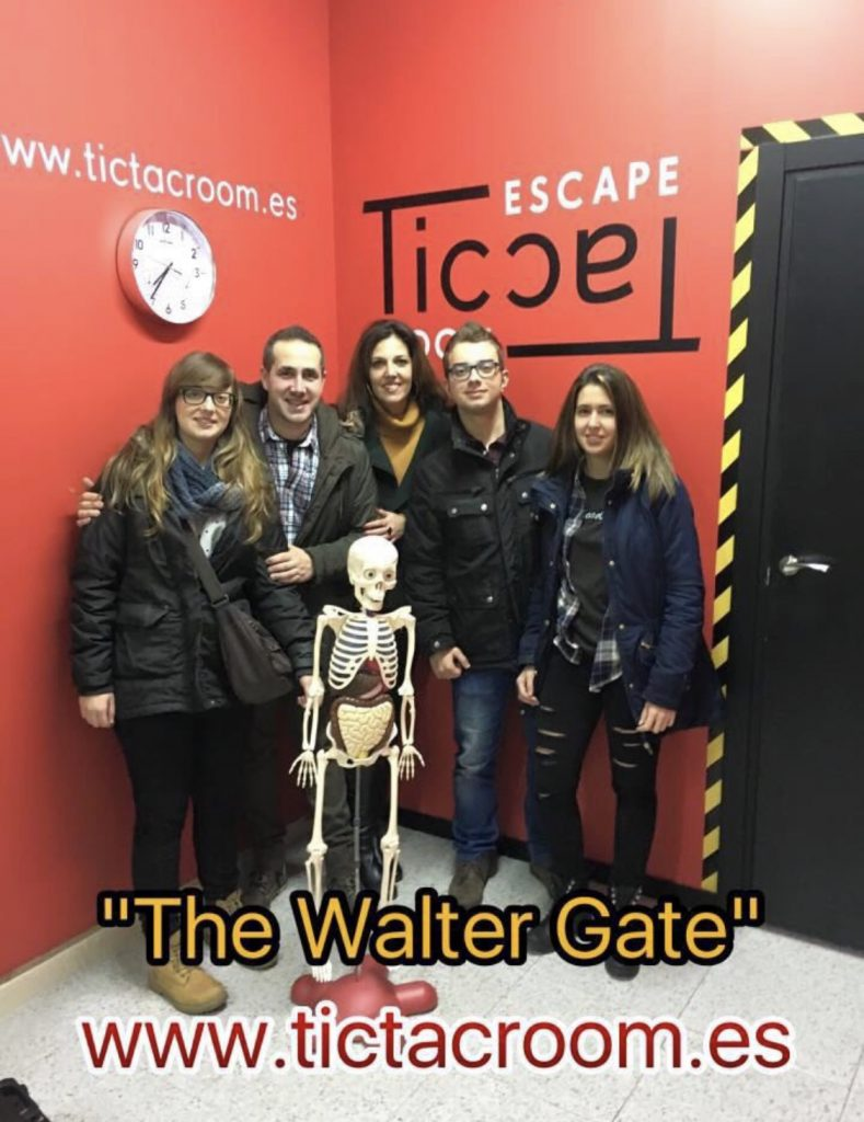 Escape Room Life en Walter Gate