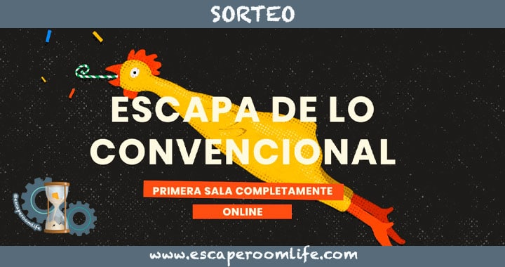 Sorteo Escape Room Digital