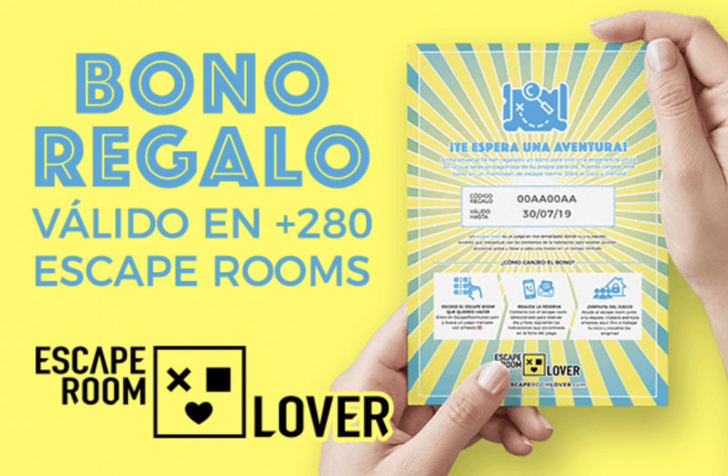 Escape Room Lover - BONO REGALO - Escapa del Alzheimer