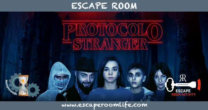 Review Protocolo Stranger - Escape Room Activity