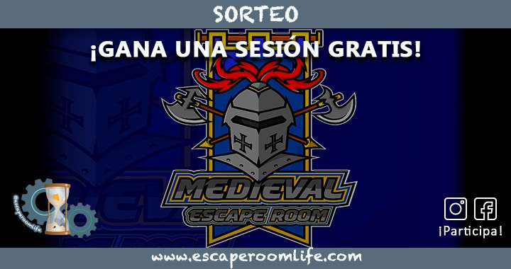 Sorteo Medieval Escape Room