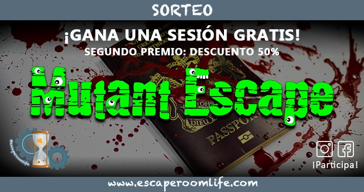 Sorteo Mutant Escape