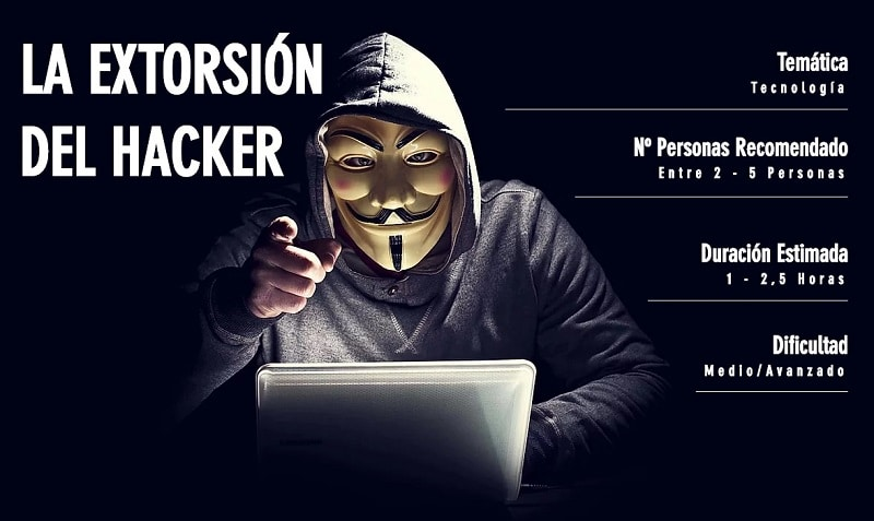 Escape Room Digital - La Extorsión del Hacker