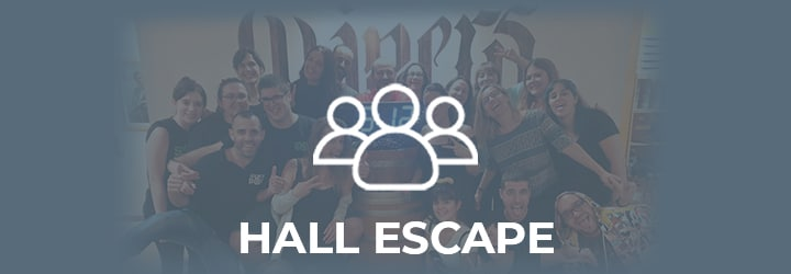 Portada Hall Escape
