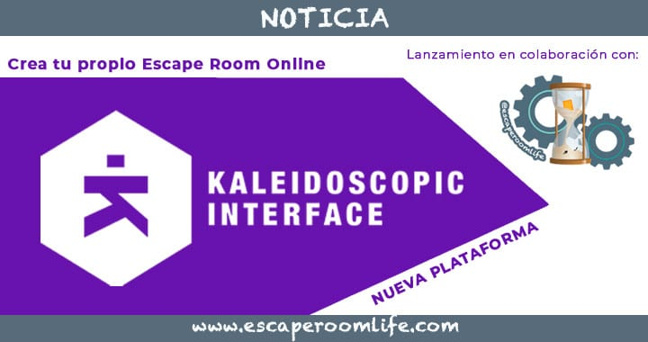 Kaleidoscopic Interface - Plataforma para crear tu propio Escape Room Online