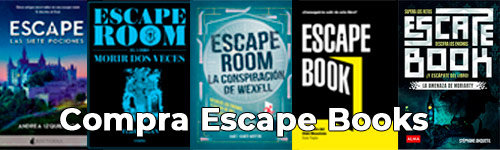 Lista escape books
