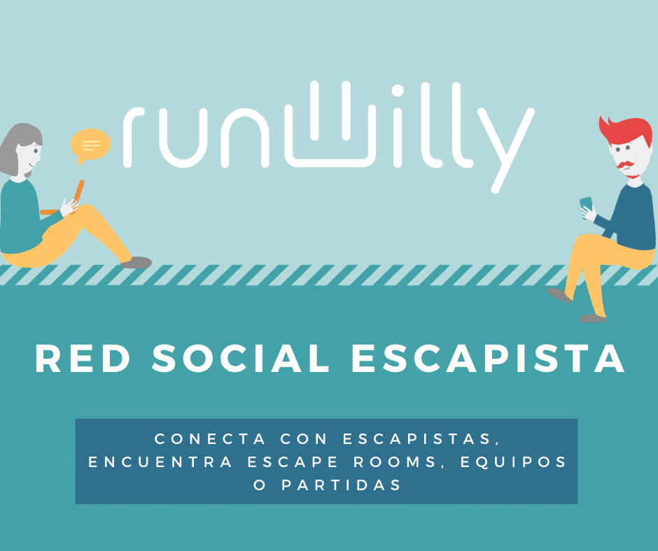Runwilly - Red social escapista