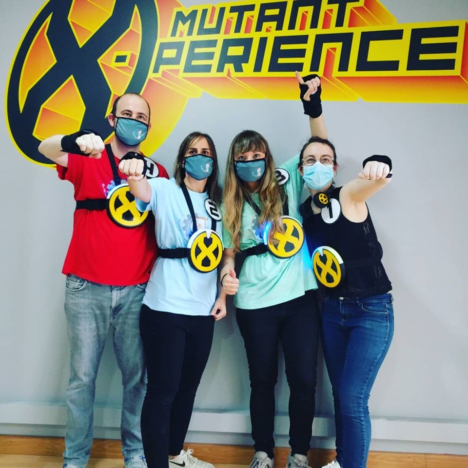 Escape Room Life en Mutant X-Perience