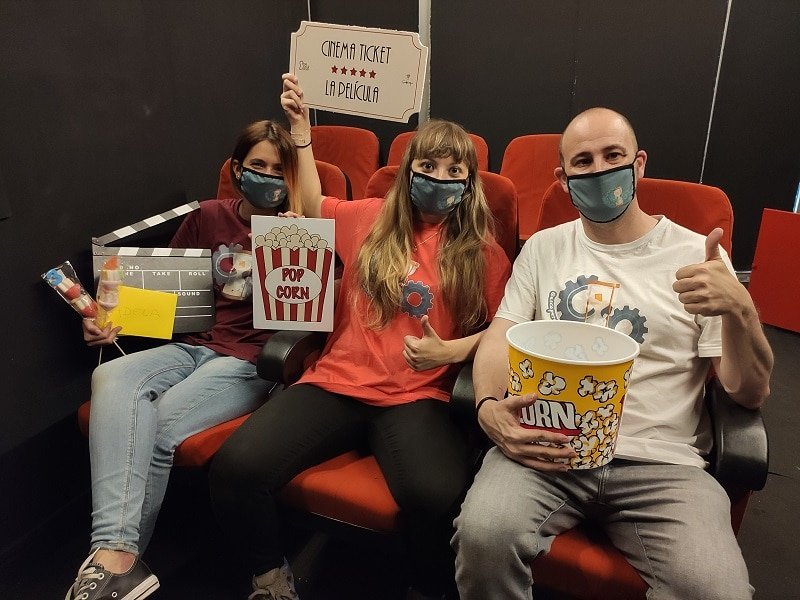 Escape Room Life en La Película