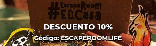 Banner Misión Pirata - Escape Room en Casa