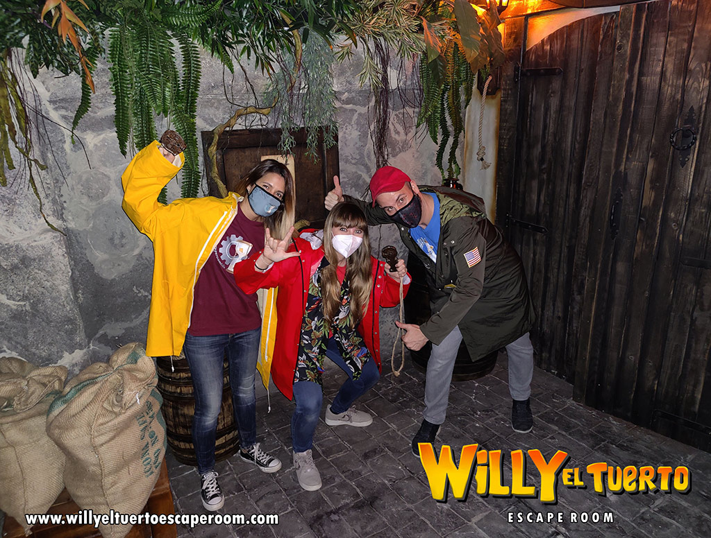 Escape Room Life en Willy El Tuerto