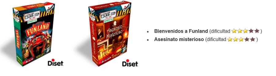 Escape Room The Game Expansiones - Diset
