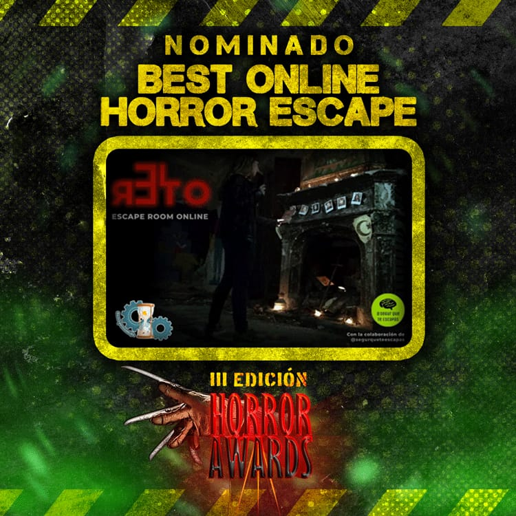 Nominacion El Reto - Horror Awards