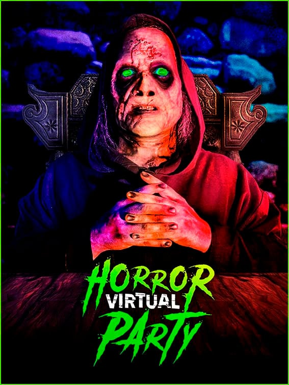 Horror Virtual Party - horror box experiencias streaming