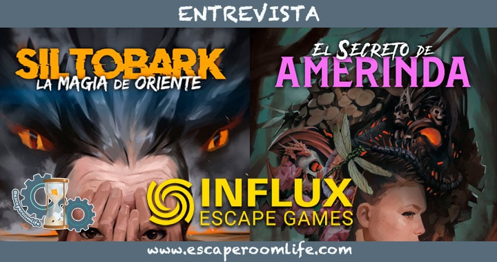 Portada Influx Escape Game