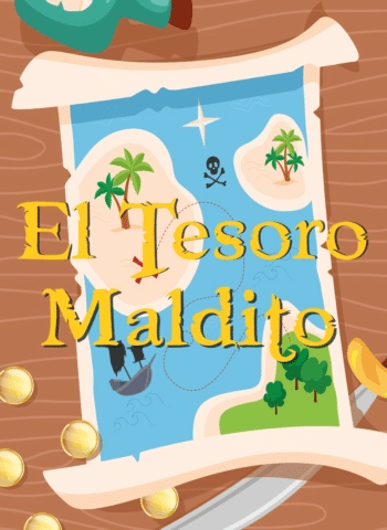 El Tesoro Maldito - Escape Kit escape DIY imprimir niños