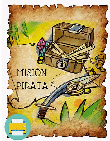 Misión Pirata - Escape Room en Casa
