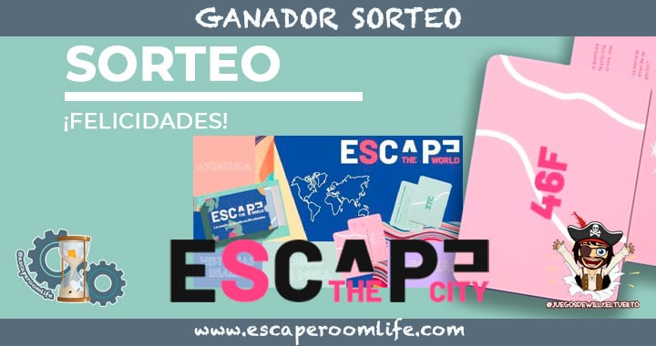 Portada Sorteo Ganador Escape The World
