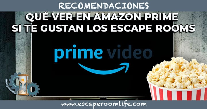 Portada Amazon Prime Escape Room