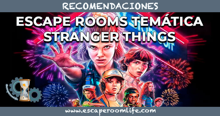 Portada Escape Rooms Temática Stranger Things