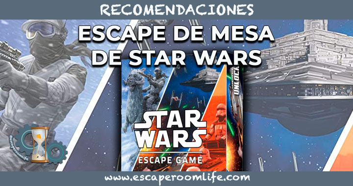 ESCAPE DE MESA DE STAR WARS